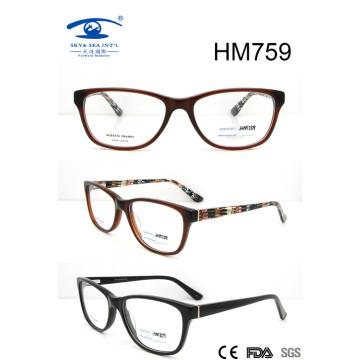 Lunettes d'acétate de nouvelle vente chaude (HM759)