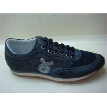 Zapatos de hombre color azul marino oscuro NX 512