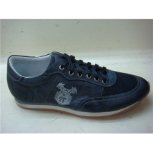 Dark Navy Lace Mens Shoes NX 512