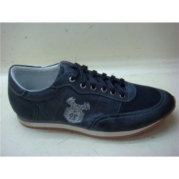 Dark Navy Lace Mens Shoes NX 512