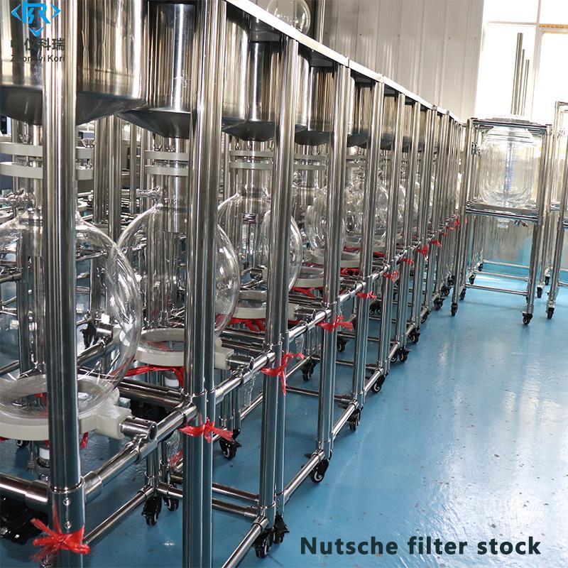 Nutsche filter stock