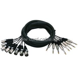 DMB Series Multi-channel Stage Snake Cable Mono Jack to M XLR