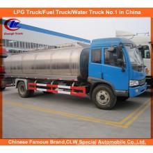 Caminhão do leite de FAW 10cbm para o caminhão de tanque fresco do leite 10ton