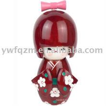 Boneca de moda tradicional
