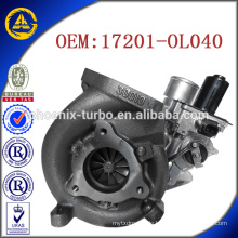 CT16V 17201-OL040 17201-OL040 Kompressor für Toyota KZN130