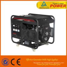 VENTA caliente gasolina/gasolina combustible 15 kva 3 generador trifásico