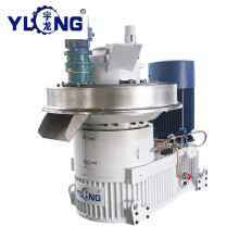 YULONG XGJ560 pellet press machine for rubber wood