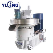 Máquina de prensagem de pelotas YULONG XGJ560 para madeira de borracha
