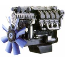 Дизельный двигатель с водяным охлаждением двигателя Deutz (BF8M1015C)