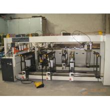 Tres filas de madera CNC máquina de perforación múltiple / máquina CNC de perforación de madera con pantalla digital