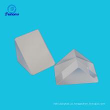 Prisma de ângulo direito de safira com revestimento reflexivo