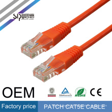 SIPU Network cable/ lan cable 24/23/22AWG cat5e cat6 patch cord manufacturer