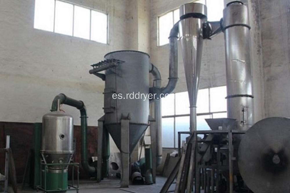 Acuarela Tintes Rotary Spin Flash Dryer