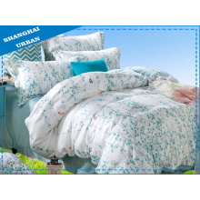 3 Stück Baumwolle Polyester Bettwäsche mit Deckel Set