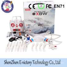 Wholesale quadcopter kids toy FPV 2.4G 6 Axis Gyro WIFI RC drone syma x8w
