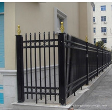 Double Layer Powder Coat System Steel Fence