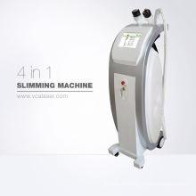 Erstaunliches tragbares 3 IN 1 Hohlraumbildung + rf + Vakuum, das Maschine, Gewicht-Verlust-Salon-Schönheits-Ausrüstung abnimmt, kundengerecht