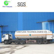 Ammoniac liquéfié moyen 21,6 m3 Volume Tank Container Semi-Trailer