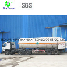 Liquefied Ammonia Medium 21.6m3 Volume Tank Container Semi-Trailer