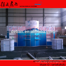 Exposiciones portátiles stand stand de exhibición para exhibición de los EE. UU. show, diseño y producción gratis