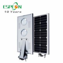 20W 25w 30W 40W 45W 50W extérieur tout dans un réverbère mené solaire de capteur de mouvement