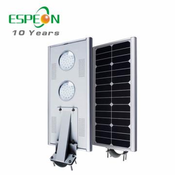 20W 25w 30W 40W 45W 50W im Freien alle in einem Bewegungssensor solar geführtes Straßenlaterne
