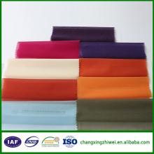 Tissu de doublure de costume de polyester pour la couture