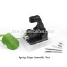 Ferramenta de reparo óptica, Conjunto de ferramentas de montagem de dobradiça