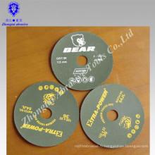 Résine sur la résine en céramique fibre disque disque fibre d'oxyde d'aluminium disque