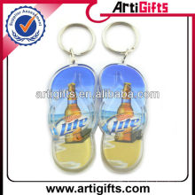 New fashion shoe shape acrylic key chain