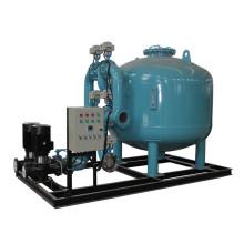 Tratamiento de agua de filtro de arena automático con bomba