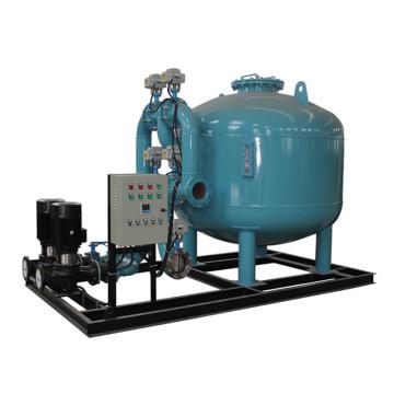 Tratamento de água automático do filtro de areia com bomba