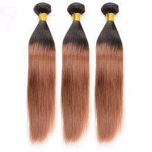 Dark root black to brown human hair extensions, new fashion, hot sale