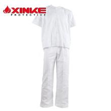 uniformes médicos al por mayor del personal del hospital del algodón en línea