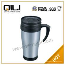 Популярные продажи BPA бесплатно нержавеющей стали starbucks эмаль Керамическая пивная кружка с ручкой
