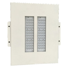Color blanco 100W Gasolinera estación colgante o empotrable Canopy LED luz IP65
