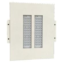 Posto de gasolina branco do posto de gasolina da cor 100W que pendura ou Recessed a luz IP65 do diodo emissor de luz do dossel