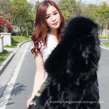 Hot sell winter fur parka wholesale with fur lining