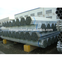 Tubo de acero redondo galvanizado por inmersión en caliente (estándar BS)