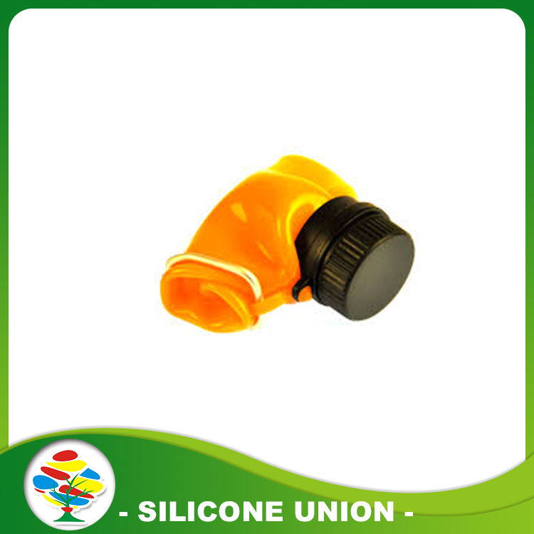 orange silicone bottle
