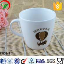 2015 New design wholesale custom 12 oz color glazed coffee ceramic mug