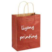 Heiße Verkaufskraftpapier-Papiertüteeinkaufstasche