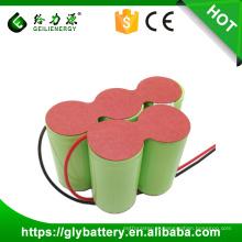 Tipo D do bloco da bateria recarregável de capacidade alta 6V 5000mah NIMH