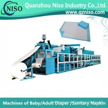Máquina estable de fabricación semi-servo Underpad con CE (CD150-HSV)