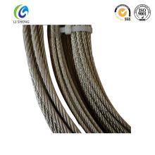 6 * 7 электро-оцинкованный стальной трос