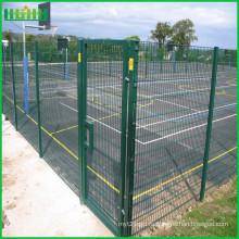 Горячие продажи высокого качества проволочной сетки забор одиночные ворота