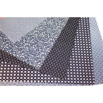Polyester cotton printed lining fabric