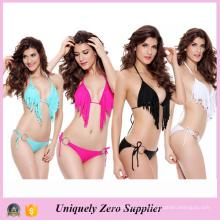2016 Hot Sale Mulheres Sexy Tankinis Bikini com Tassels