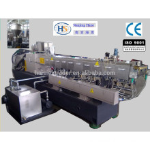 Polymer reinforce/filling making machine type pellet machine