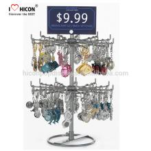 Sparen Sie Ihre Zeit, sparen Sie Ihr Geld Schlüsselanhänger Merchandising Haarclip Ausstellung Metall Display Stand